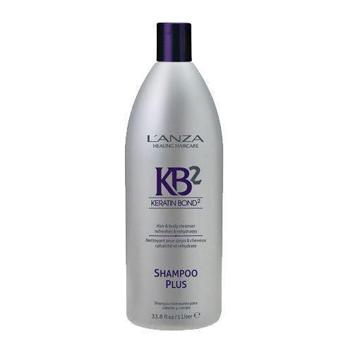L'Anza Shampoo Plus (Hair & Body Cleanser) 1000ml