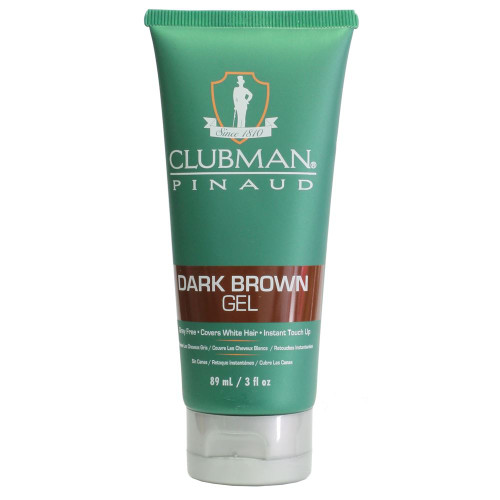 Clubman Pinaud Dark Brown Gel 98ml