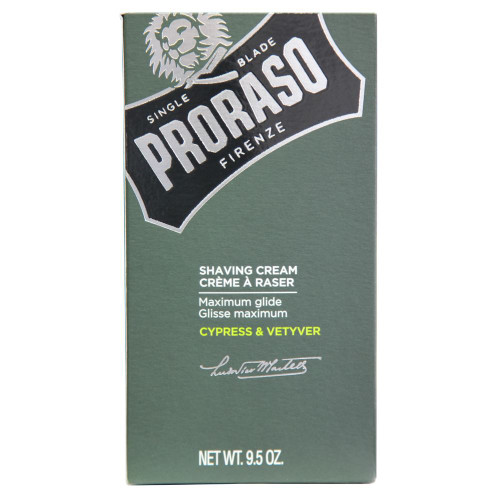 Proraso Cypress & Vetyver Shaving Cream 275ml (9.5 oz)
