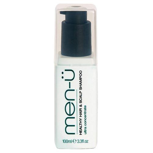 men-u healthy hair & scalp shampoo 100ml