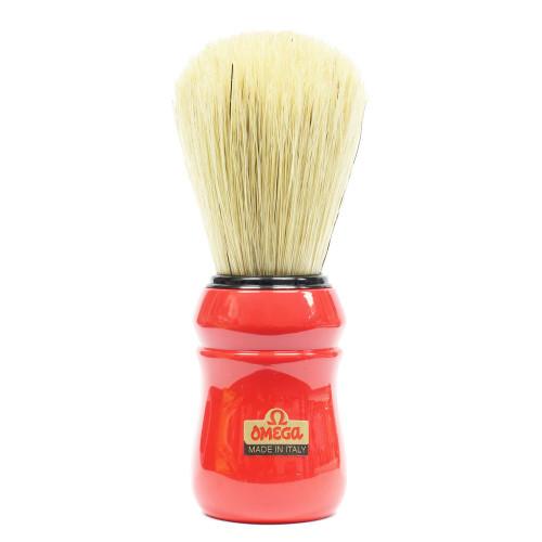 Omega Red Shaving Brush