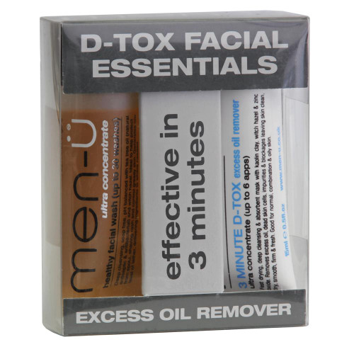 men-u D-Tox Facial Essentials
