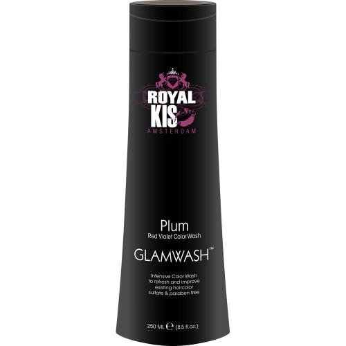 Kapper KIS GlamWash PLUM (Red-Violet) - 250ml