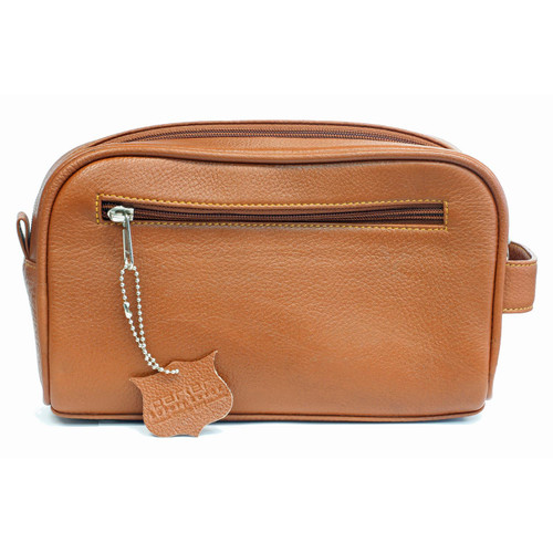 Parker TBSADDLE Leather Toiletry Bag