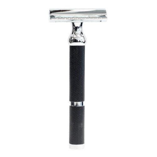 Parker 71R Black Texture Handle Safety Razor