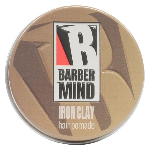 Barber Mind Iron Clay Hair Pomade 100ml