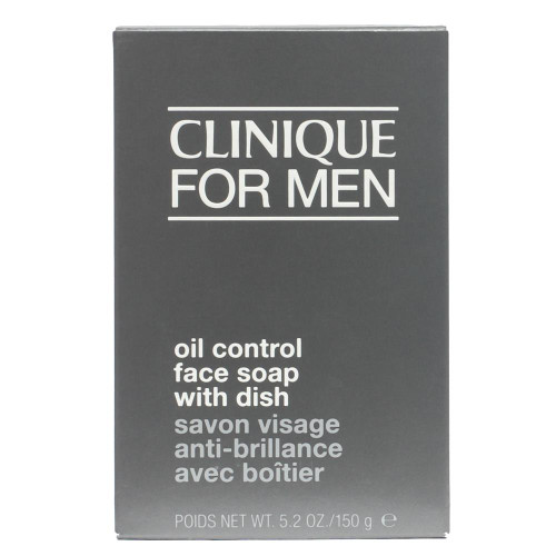 Clinique for Men Oil Control Face Soap with dish