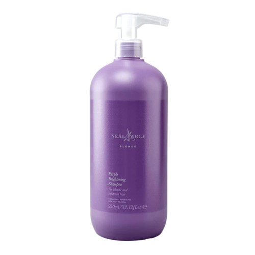 Neal & Wolf Blonde Purple Brightening Shampoo 950ml