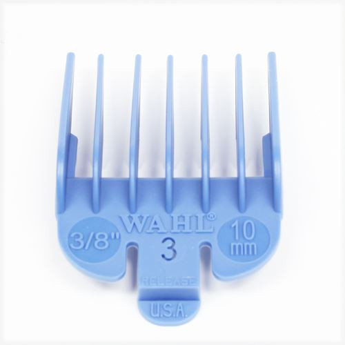 "Wahl N'3 Attachment Comb 10mm (3/8"") with cut out number indicator"