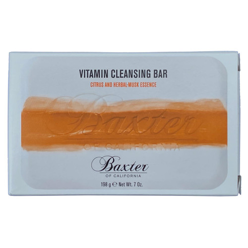 Baxter of California Vitamin Cleansing Bar - Citrus and Herbal-Musk Essence 198g
