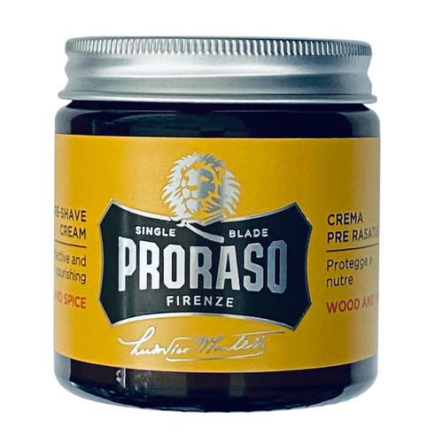 Proraso Wood & Spice Pre-Shave Cream 100ml