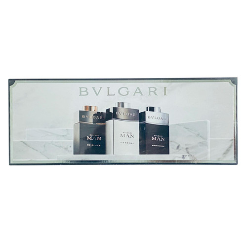 Bvlgari Man Travel Collection Miniature Set