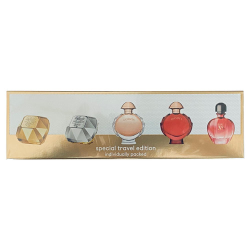 Paco Rabanne Special Travel Edition Womens Miniature Set