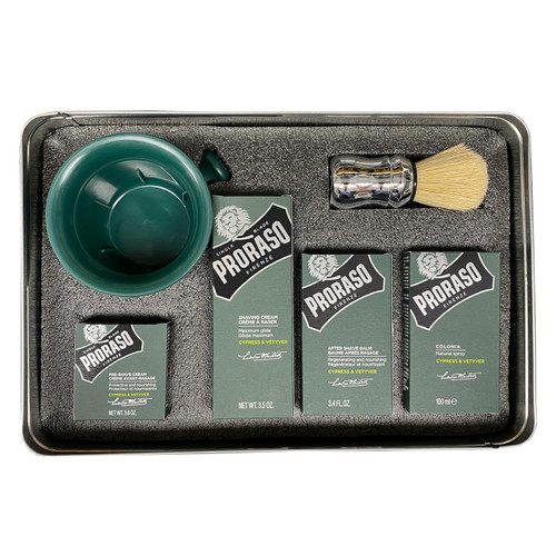 Proraso Cypress & Vetyver Shaving Kit