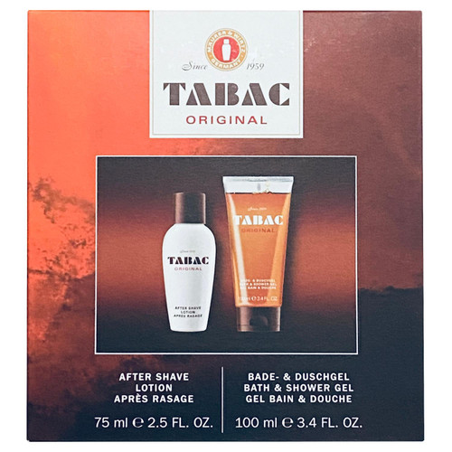 Tabac Set - After Shave 75ml + Bath & Shower Gel 100ml