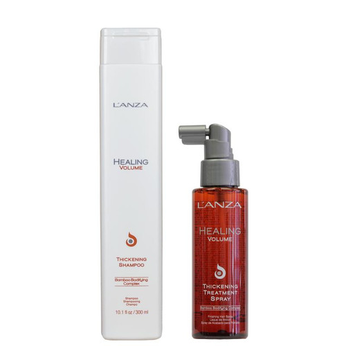 L'Anza Healing Volume Thickening Shampoo + Treatment Deal