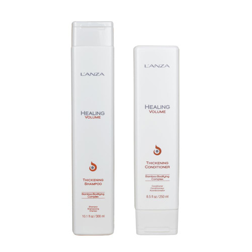 L'Anza Healing Volume Shampoo 300ml + Conditioner 250ml