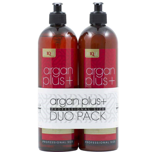 Argan Plus+ Duo Pack - Luxury Wash 739ml + Hydrating Conditioner 739ml