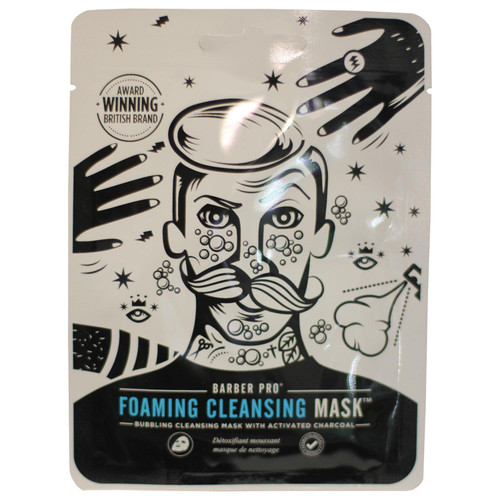 Barber Pro Foaming Cleansing Mask 20ml