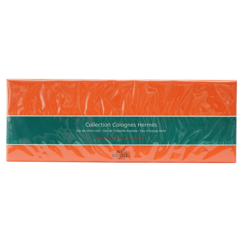 Hermes Perfumes Soap Collection - Eau de Citron Noir, Eau de Rhubarbe Ecarlate & Eau D'orange Verte