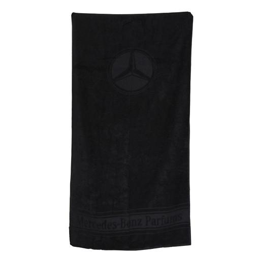 Mercedes Benz Black Towel
