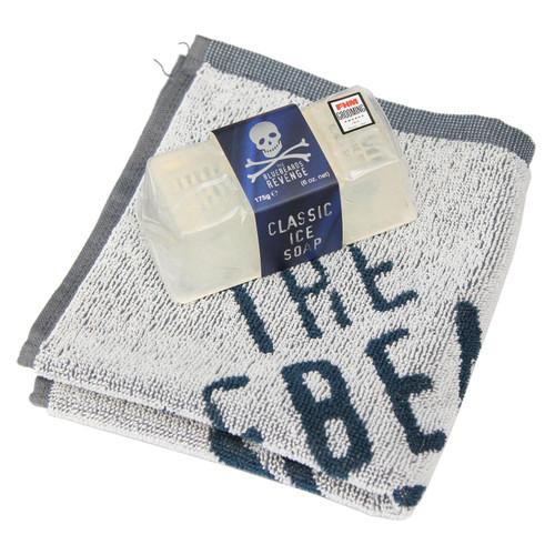 The Bluebeards Revenge Classic Ice Soap 175g + Flannel