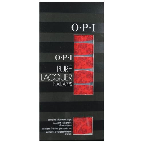 OPI Nail Apps - Floating Dragon Pure Lacquer pre-cut strips