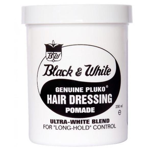 Black and White Wax hair wax