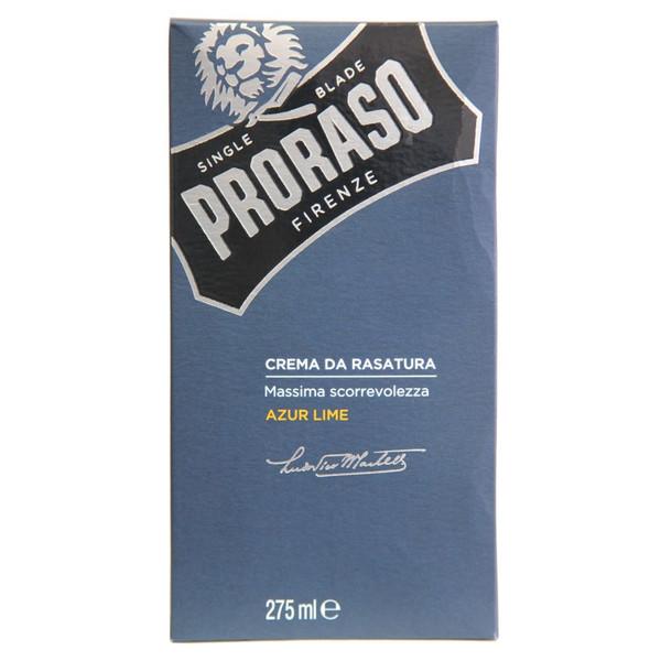 Proraso Azur Lime Shaving Cream 275ml (9.05 oz)