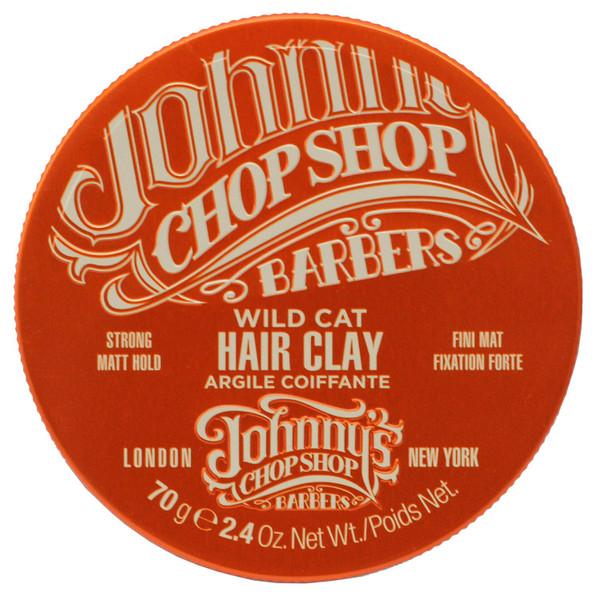Johnny's Chop Shop Asian Wild Cat Hair Clay 70g (Paraben free)