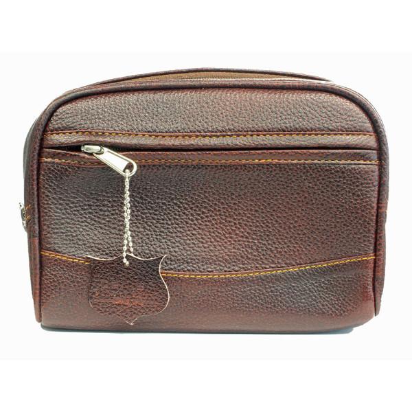 Parker TBLG Large Leather Toiletry Bag