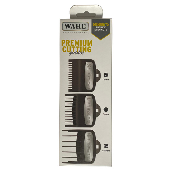 Wahl Premium Cutting Guards [ .1, 1 & 1 ½]