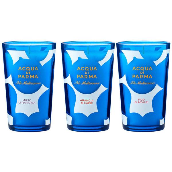 Acqua di Parma Blu Mediterraneo Candle Collection x 3 65g