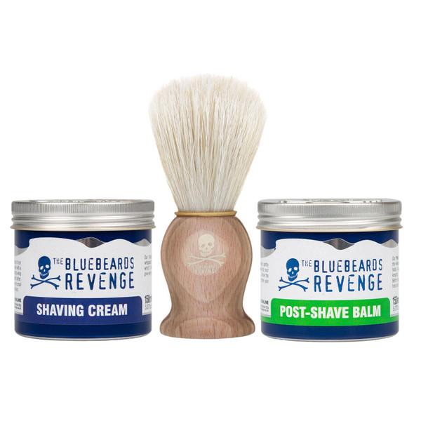 The Bluebeards Revenge Shaving Brush, The Bluebeards Revenge Post Shave Balm & The Bluebeards Revenge Shaving Cream