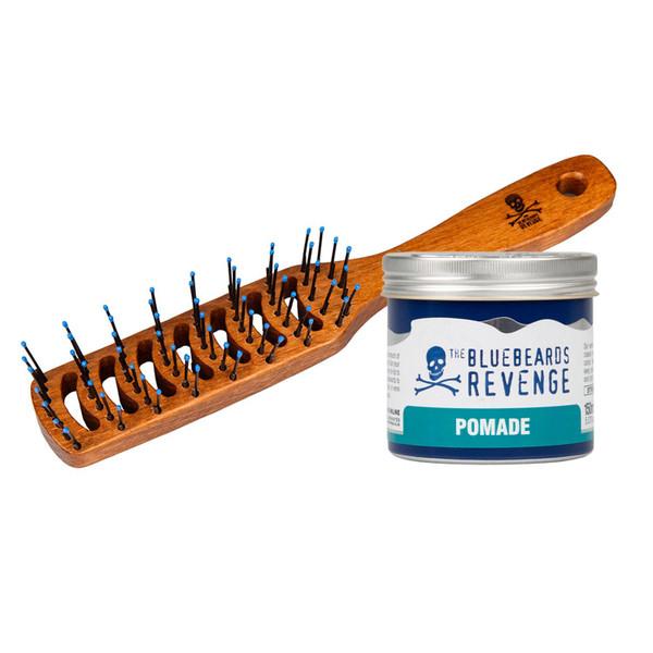 The Bluebeards Revenge Vent Brush + Pomade 150ml