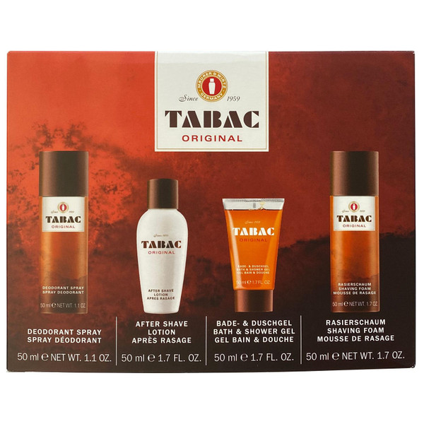 Tabac 4 piece Travel GiftSet