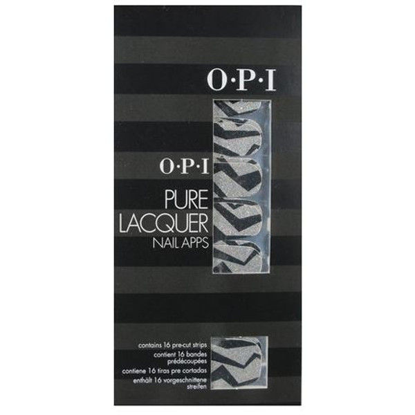 OPI Nail Apps -  Nice Tux Pure Lacquer pre-cut strips