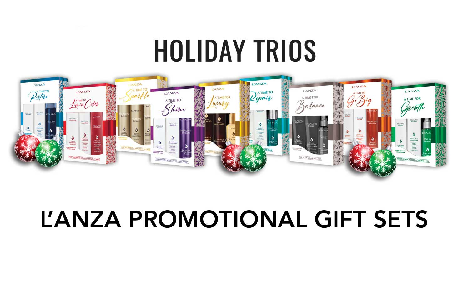 L'Anza Christmas Gift Sets