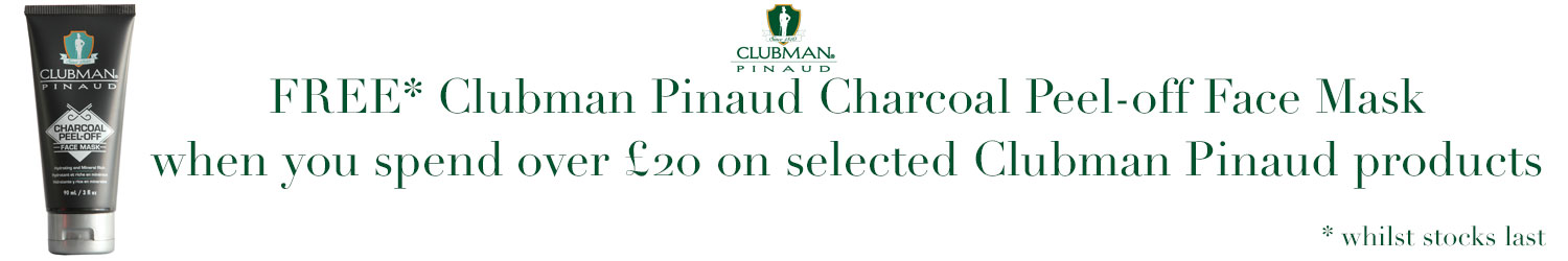 Clubman Pinaud Charcoal Peel-off Face Mask 90ml