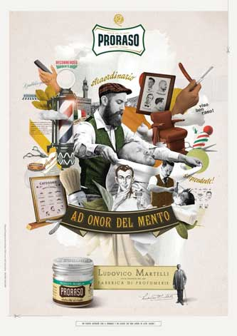 Full range of Proraso Shaving, beard and face care products