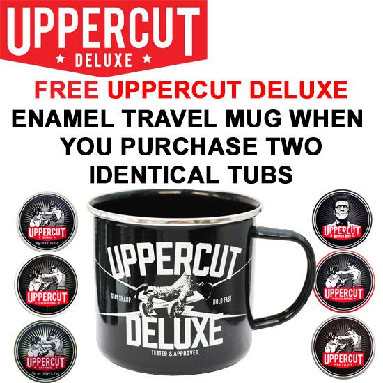 Uppercut Deluxe FREE Enamel Travel Mug