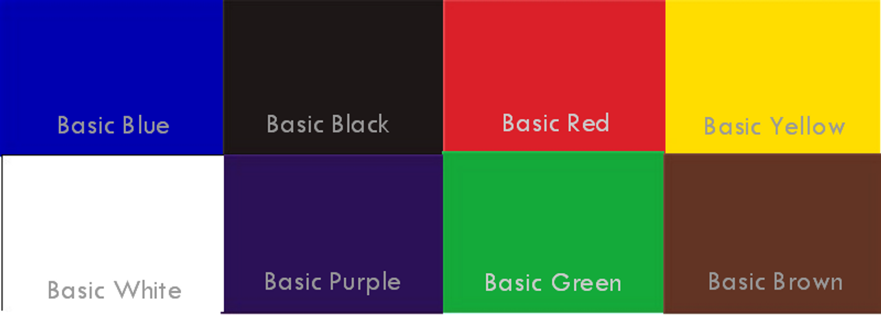 WB BASIC Colors