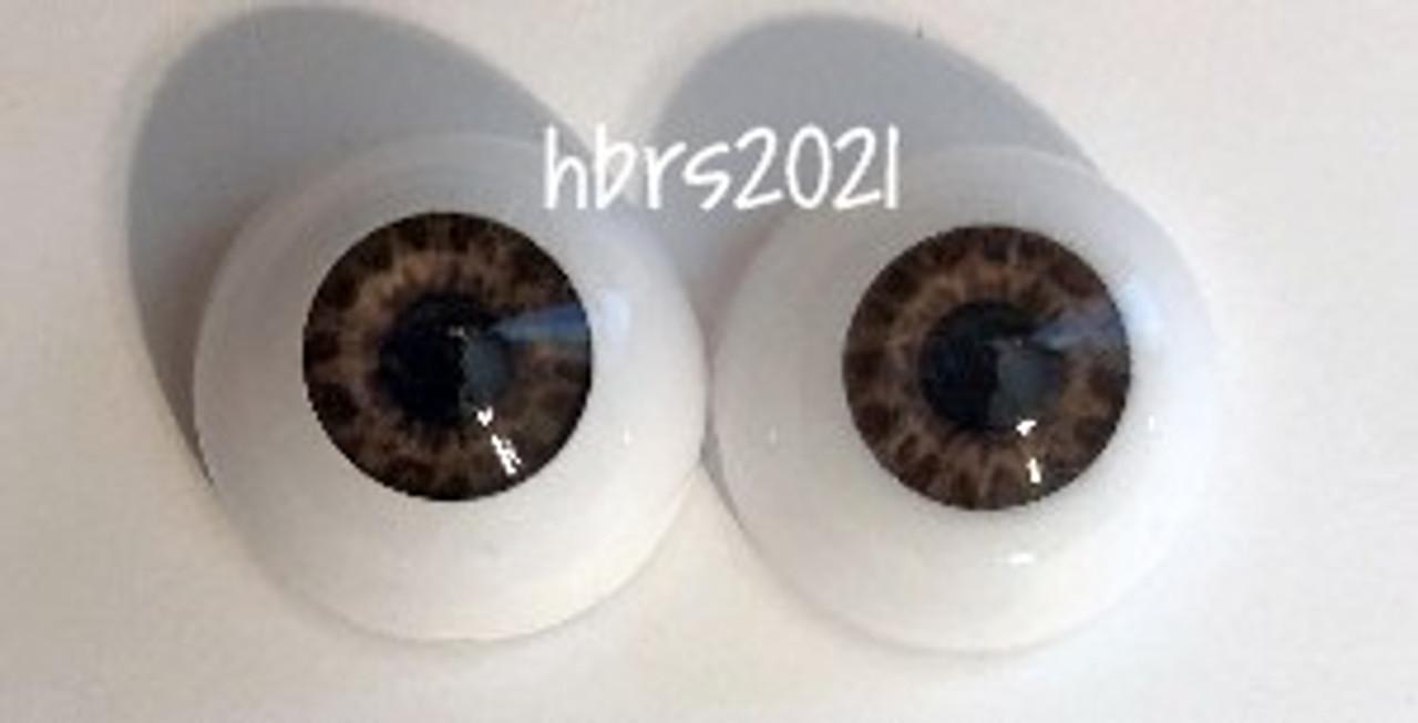 Real Eyes TIGER EYE BROWN, 14mm