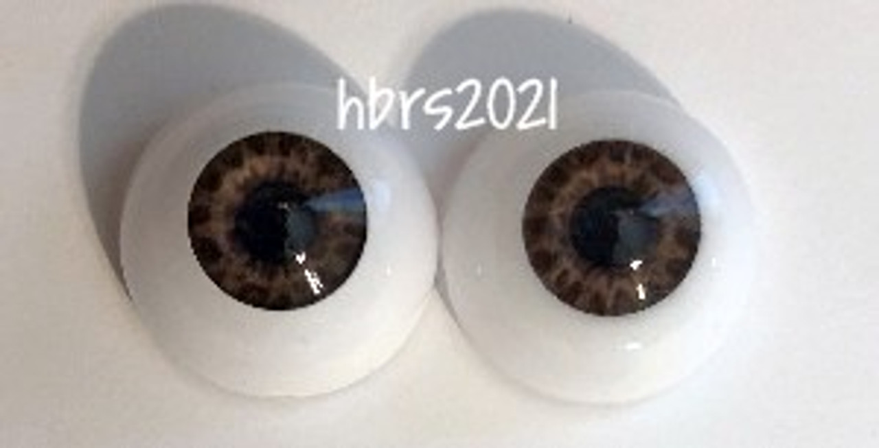 Real Eyes TIGER EYE BROWN, 16mm