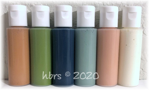 WaterBorne © Air Dry TINTING Doll Colors, Individual 1/2 oz. Bottle