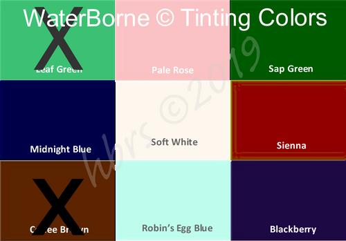 WaterBorne © Air Dry TINTING Doll Colors, Individual 1 oz. Bottles PRICE DROP!