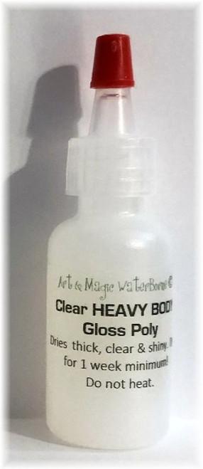 Air Dry Clear THICK GLOSS Polyurethane Varnish, 1/2 ounce