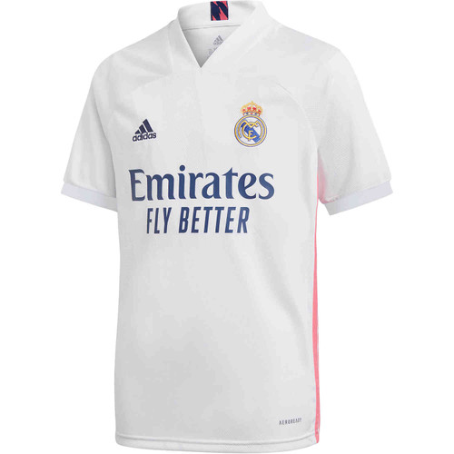 Real Madrid 2020/21 Home Jersey