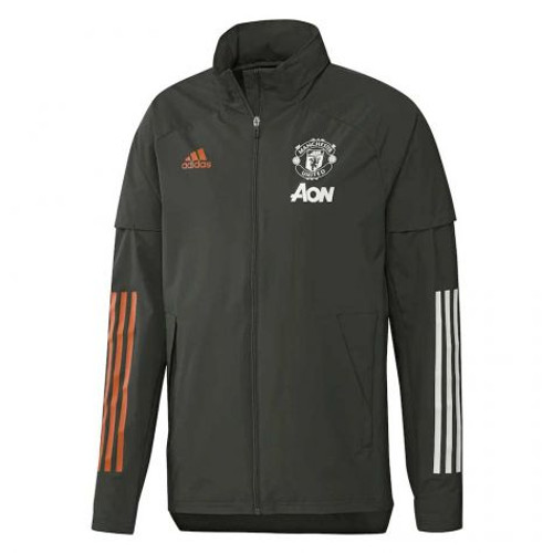 Manchester United 2020/21 All Weather Jacket - Forest Green