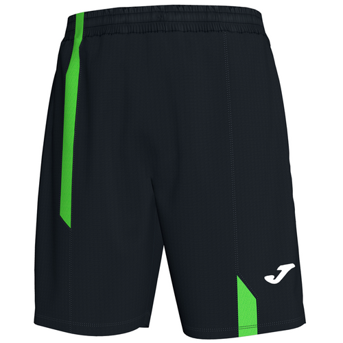 Supernova Short - Black/Green Stripes - With Pockets